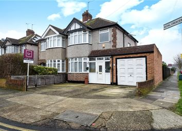 Thumbnail 3 bed semi-detached house for sale in Royal Crescent, Ruislip, Middlesex