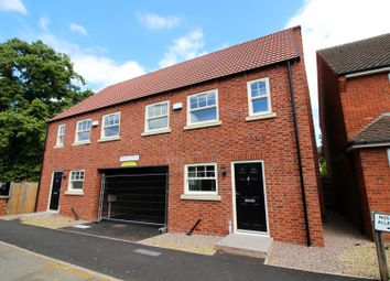 Thumbnail 3 bed semi-detached house for sale in Wesley Court, Billingborough, Nottinghamshire