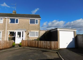 Thumbnail 4 bed semi-detached house for sale in Brue Close, Bruton