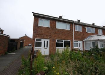 Thumbnail 3 bed terraced house for sale in Norwich Close, Ashington