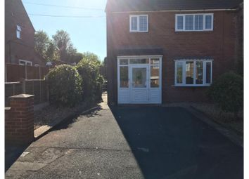 Thumbnail 3 bed semi-detached house for sale in Windermere Road Clayton, Newcastle