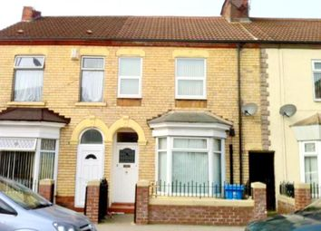 Thumbnail 2 bed terraced house to rent in New Bridge Road, Hull