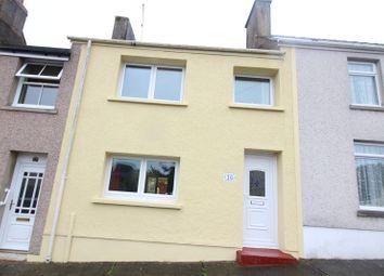 Thumbnail 4 bed terraced house for sale in Owen Street, Pennar, Pembroke Dock, Pembrokeshire.