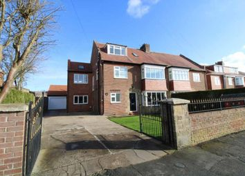 Thumbnail 5 bed semi-detached house for sale in Cheviot View, Ponteland, Newcastle Upon Tyne, Northumberland