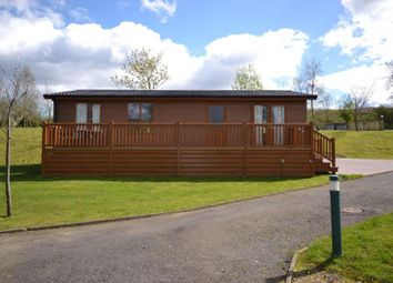 Thumbnail 2 bed mobile/park home for sale in Copshaw Lodge Plot 2, Riverview Holiday Park Mangerton Newcastleton