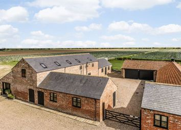 Thumbnail 4 bed barn conversion for sale in Scrane End, Freiston