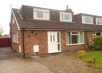 Thumbnail 4 bed semi-detached house to rent in Kennedy Drive, Haxby, York