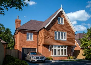 Thumbnail 5 bed detached house for sale in Burwood Park Road, Hersham, Walton-On-Thames