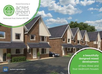 Thumbnail 4 bed property for sale in Acres Green, Walderslade Road, Chatham