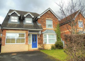 Thumbnail 4 bedroom detached house for sale in Cawburn Close, High Heaton, Newcastle Upon Tyne