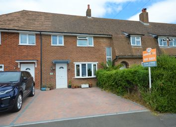 Thumbnail 3 bed terraced house for sale in Roman Way, Cheriton, Folkestone