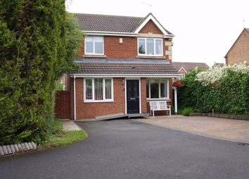 Thumbnail 4 bed detached house for sale in Lapford Drive, Cramlington