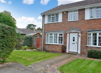 Thumbnail 3 bed end terrace house for sale in Meadow Close, Thatcham