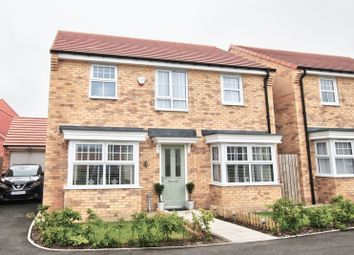 Thumbnail 4 bed detached house for sale in Ponteland Square, Blyth