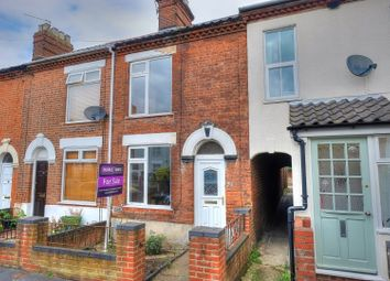 Thumbnail 3 bed terraced house for sale in Clarke Road, Norwich