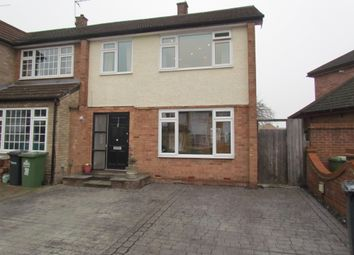 Thumbnail 3 bedroom semi-detached house for sale in Ashdown Crescent, Cheshunt