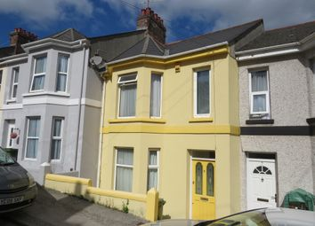Thumbnail 3 bedroom terraced house for sale in Mostyn Avenue, Plymouth