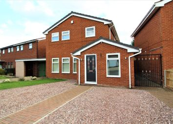 Thumbnail 4 bed detached house for sale in Ashburn Way, Wrexham