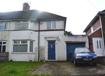 Thumbnail 3 bed end terrace house for sale in Norman Road, Smethwick