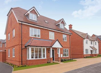 """Thumbnail 5 bedroom detached house for sale in """"The Carnarvon"""" at Tile Barn Row, Woolton Hill, Newbury"""