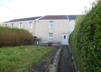 Thumbnail 2 bed terraced house for sale in Danygraig Road, Neath, West Glamorgan.