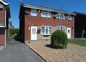 Thumbnail 3 bedroom semi-detached house to rent in Roman Drive, Chesterton, Newcastle Under Lyme, Staffordshire