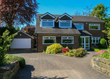 Thumbnail 4 bed detached house for sale in Harrop Road, Hale, Altrincham