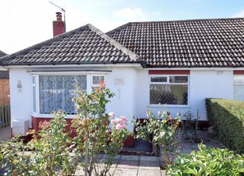 Thumbnail 2 bed semi-detached bungalow for sale in Leighton Close, Crossgates, Scarborough, North Yorkshire