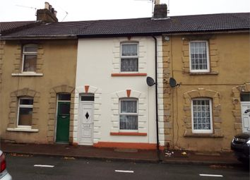 Thumbnail 3 bed terraced house for sale in Vicarage Road, Gillingham, Kent.