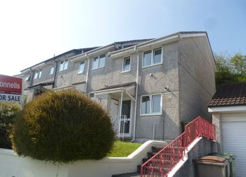 Thumbnail 2 bed end terrace house for sale in Elford Crescent, Plympton, Plymouth