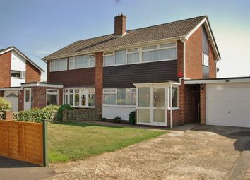 Thumbnail 3 bed semi-detached house to rent in Mendips Road, Fareham