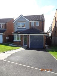 Thumbnail 3 bed detached house to rent in Welby Drive, Ushaw Moor