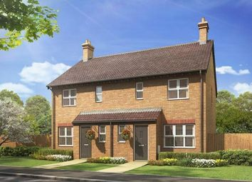 Thumbnail 3 bed semi-detached house for sale in Plot 86 Hanbury, The Lancasters, Waterbeach, Cambridge