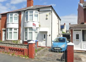 Thumbnail 2 bed semi-detached house for sale in Dunelt Road, Blackpool