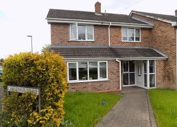 Thumbnail 4 bedroom semi-detached house for sale in Chestnut Drive, Ashbourne, Derbyshire