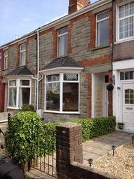 Thumbnail 3 bed terraced house to rent in Grove Road, Bridgend, Mid Glammorgan