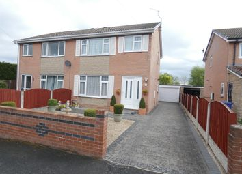 Thumbnail 3 bed semi-detached house for sale in Colvin Close, Arksey, Doncaster