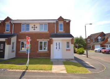 Thumbnail 3 bed semi-detached house for sale in Tunicliffe Court, Swadlincote
