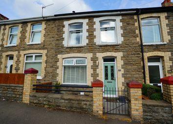 Thumbnail 2 bed terraced house for sale in John Street, Cwmcarn, Newport