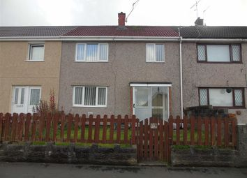 Thumbnail 3 bedroom terraced house for sale in Lon Gwendraeth, Caemawr, Swansea