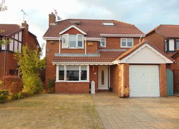 Thumbnail 5 bed detached house for sale in Parklands, Widnes