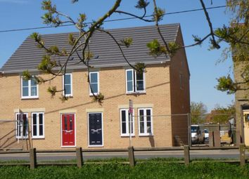 Thumbnail 3 bed semi-detached house to rent in Rectory Road, Outwell, Wisbech