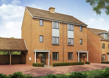 "Thumbnail 4 bed semi-detached house for sale in ""The Wolvesey"" at Southfleet Road, Swanscombe"