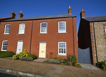 Thumbnail 3 bed semi-detached house for sale in Gallows Down Lane, Poundbury, Dorchester