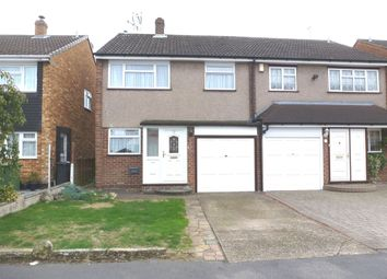 Thumbnail 3 bedroom semi-detached house for sale in Caxton Road, Hoddesdon