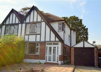 Thumbnail 3 bed semi-detached house to rent in Abbots Gardens, London