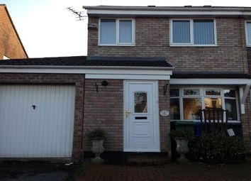 Thumbnail 3 bed semi-detached house to rent in Canford Close, Great Sankey, Warrington