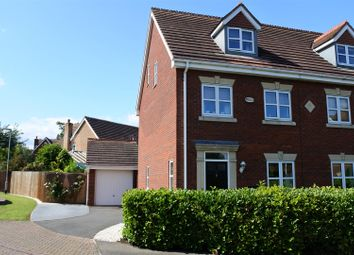 Thumbnail 3 bed semi-detached house for sale in Langford Gardens, Grantham