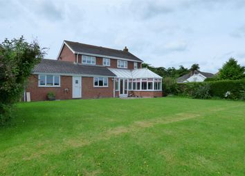 Thumbnail 4 bed detached house for sale in Wragholme Road, Grainthorpe, Louth