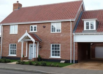 Thumbnail 4 bedroom detached house to rent in Minnow Way, Mulbarton, Norwich